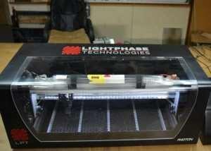 Light Phase Technologies Desktop Laser Cutter And Engraver (video)