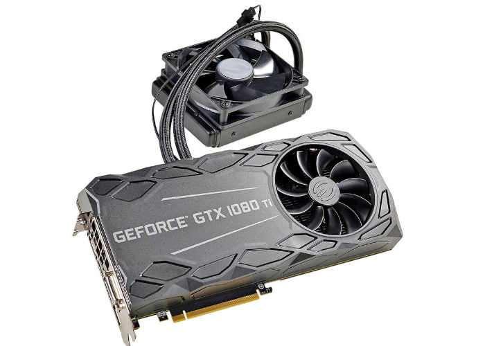 EVGA GeForce GTX 1080 Ti FTW3 HYBRID Graphics Card