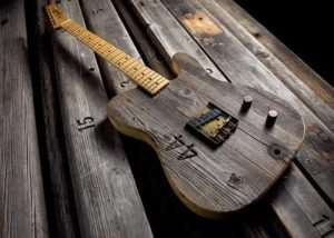 Fender Front Row Legend Guitars Created Using Hollywood Bowl Bench Boards