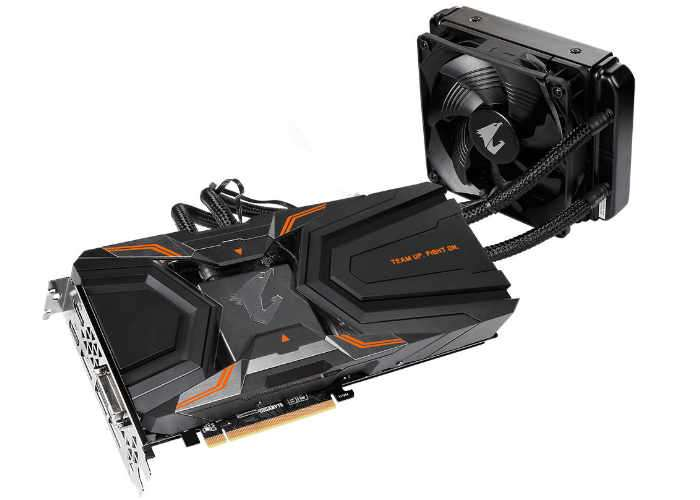 GIGABYTE Aorus GeForce GTX 1080 Ti WaterForce Xtreme Graphics Card