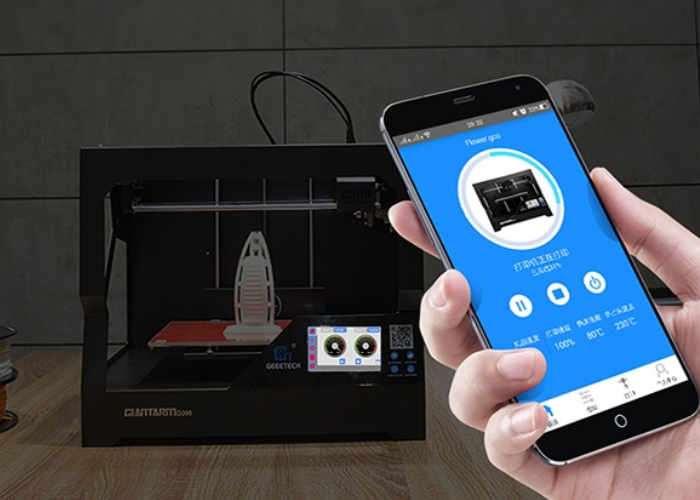 Geeetech GiantArm D200 Cloud 3D Printer