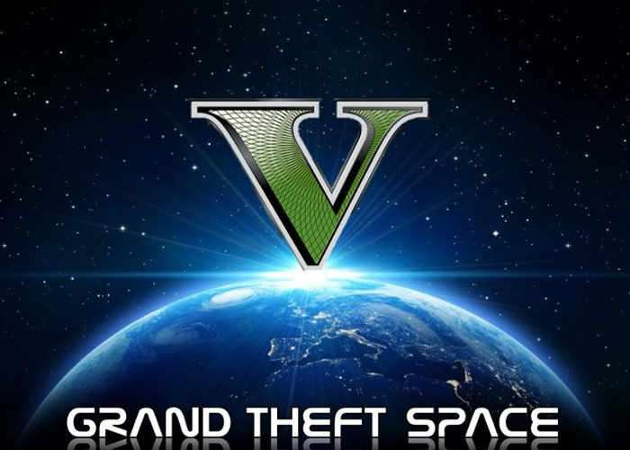 Grand Theft Space GTA5 Mod