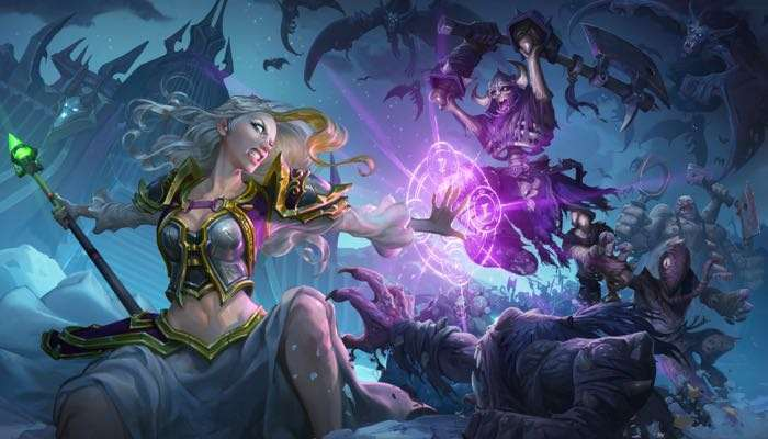 Hearthstone Knights Of The Frozen Throne Expansion Announced
