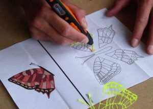 Hot Orange 3D Printing Pen Launches From €45 (video)