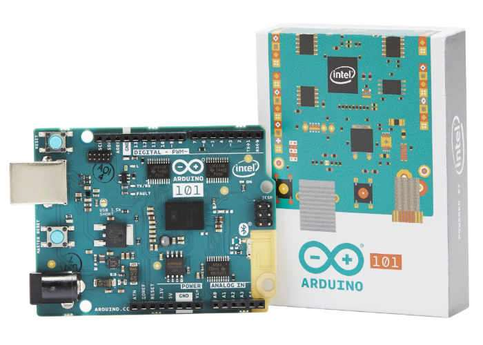Intel Curie-based Arduino 101