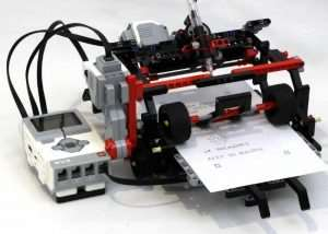 LEGO Telegraph Machine and Printer (video)