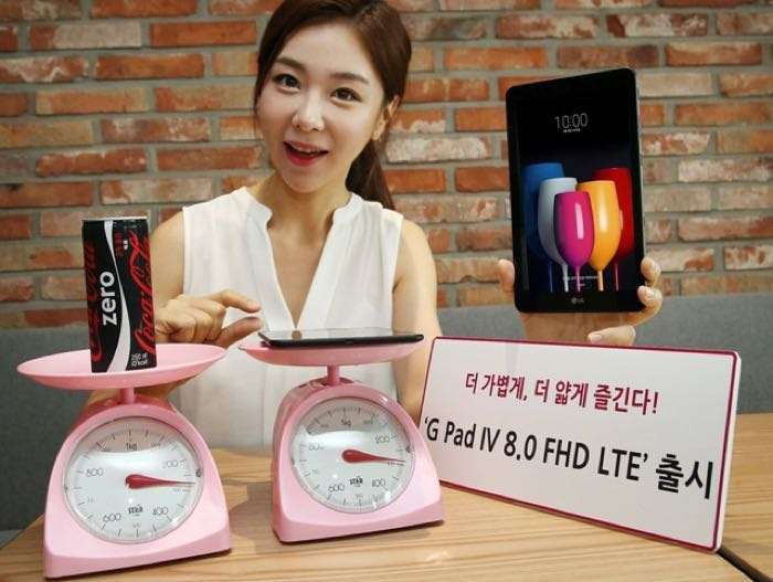 LG's New Tablet Is 'As Light As A Can Of Soda'