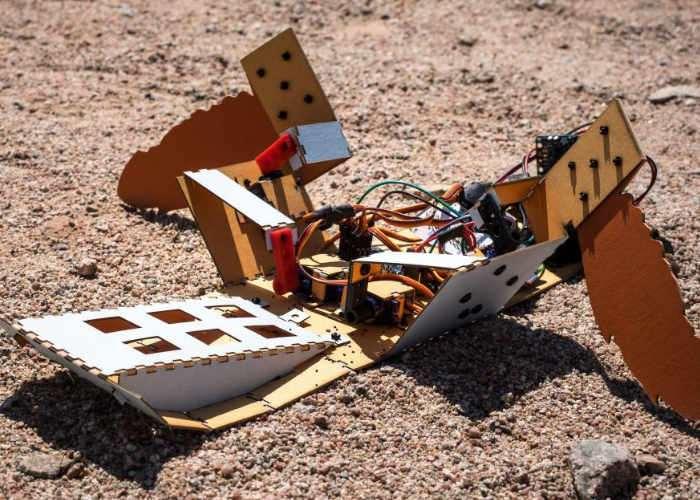 Landmine Clearing Robot