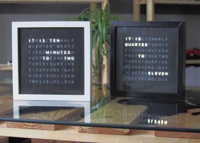 LetB v2 Minimal Text Clock