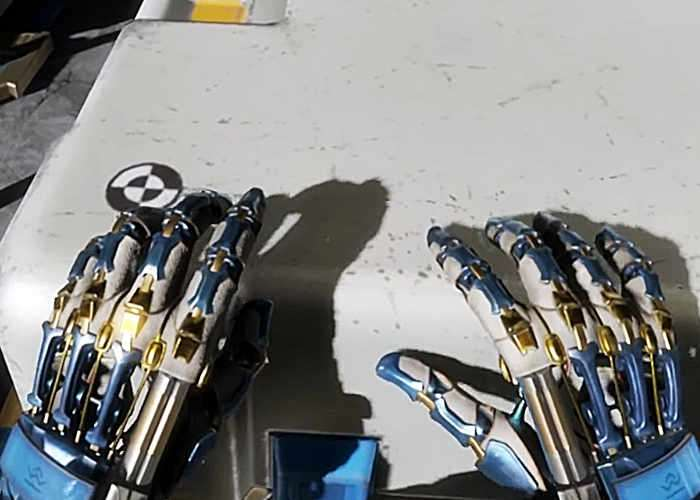 Lone Echo Virtual Hands