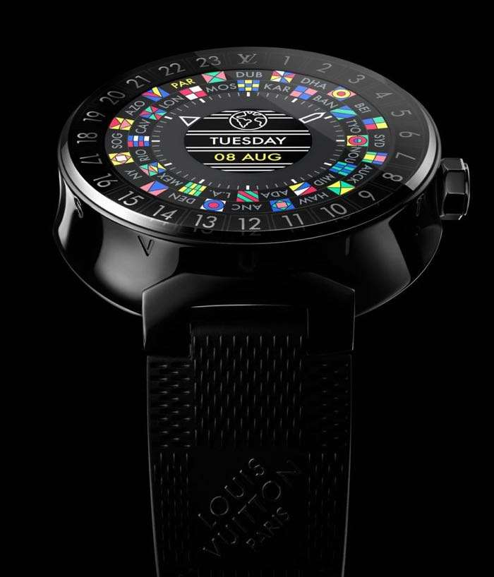 Louis Vuitton Smartwatch Tambour Horizon Another Fashionable Accessory