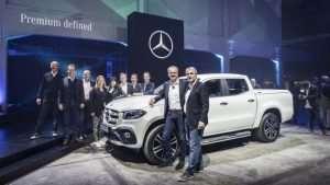 Mercedes Benz X Class Pickup Announced