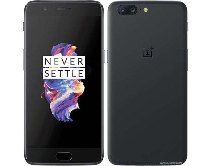 Midnight Black OnePlus 5