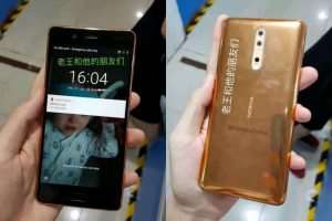 Nokia 8 Leaked Again, This One Has A Copper Gold Color