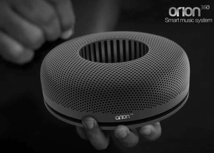 ORION360 Gesture Controlled Music System