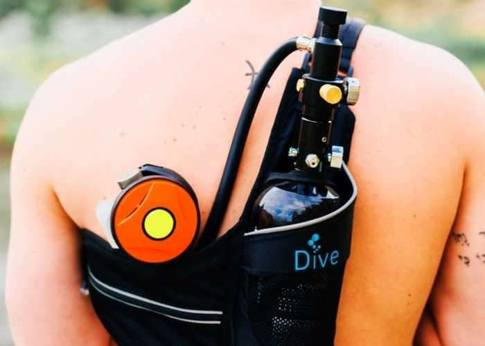Portable Lungs Mini Dive Scuba Tank Video Geeky Gadgets
