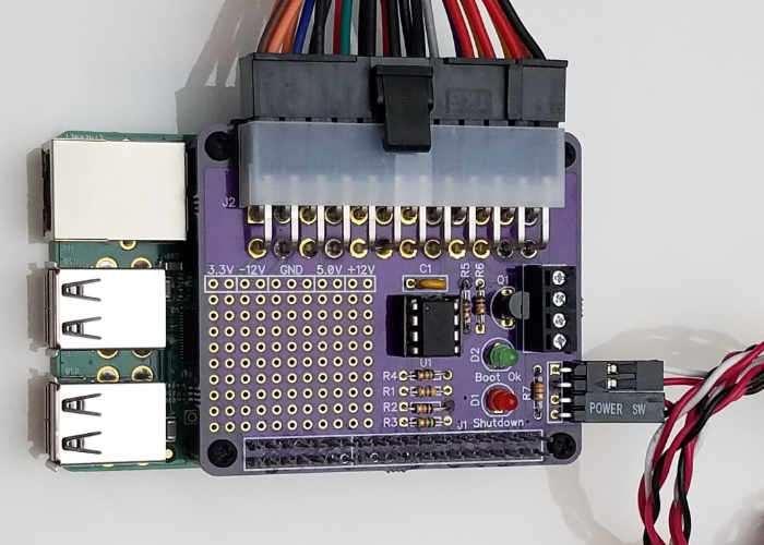 Raspberry Pi ATX PSU Power HAT