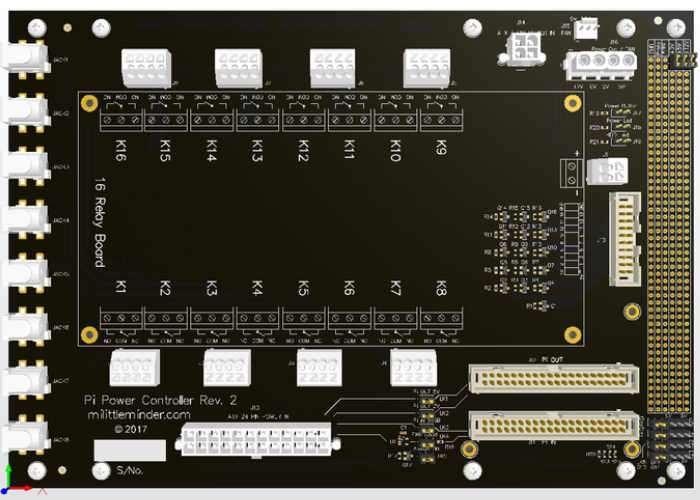 Raspberry Pi ATX Power Board