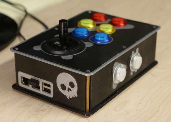 DIY Raspberry Pi Portable Arcade Console (video) - Geeky Gadgets