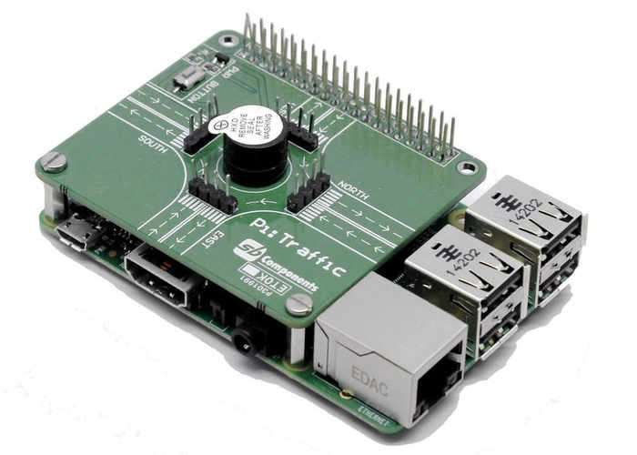 Raspberry Pi Traffic Light Shield