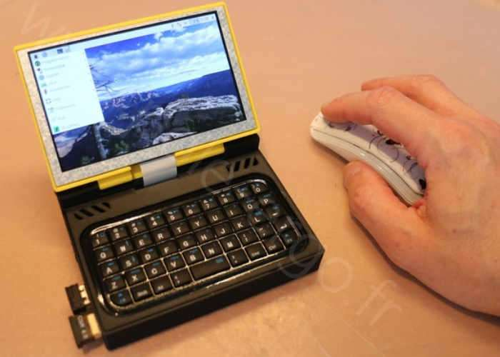 Raspberry Pi Ultra Mobile Pocket PC