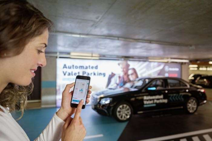 Daimler and Bosch show off a driverless Automated Valet Parking system