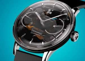 Sequent Kinetic Self-Charging Smartwatch (video)