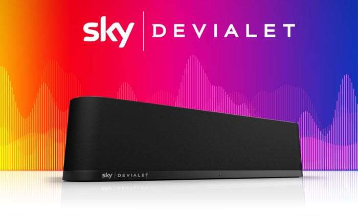 Sky Teams Up With Devialet For New Sky Soundbox