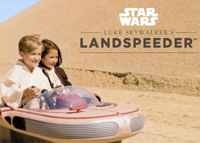 Radio Flyer Rolls Out a Luke Skywalker Landspeeder for Kids