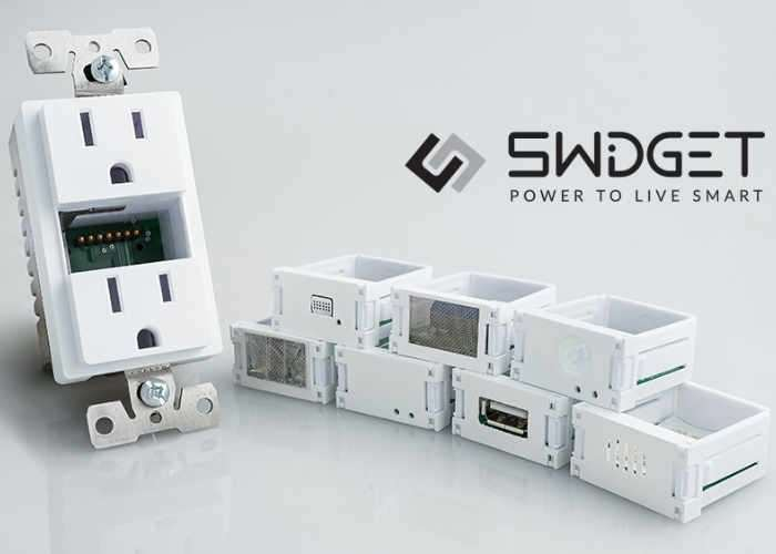Swidget Smart Home Outlet Supports All Platforms
