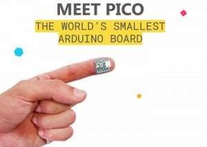 Tiny Arduino PICO Development Board Created (video)