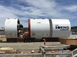 Elon Musk Show Off Boring Company Car Elevator (Video)