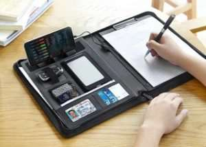 Zion Padfolio Combines Digital And Traditional (video)