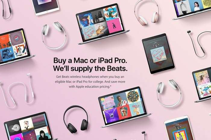 Apple Offers Free Beats in Back to School Promotion
