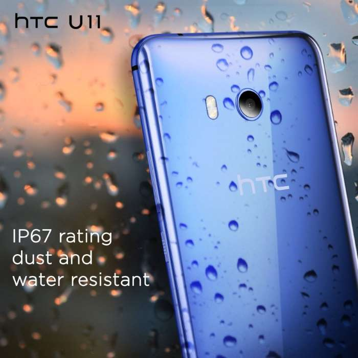 HTC U11 Sapphire Blue Colour Variant India, Pre-Orders Now Open