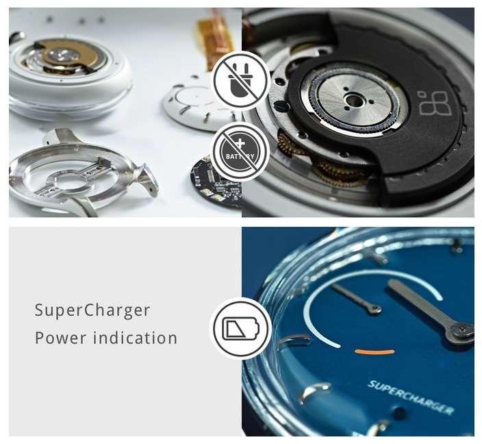 kinetic self-charging smartwatch