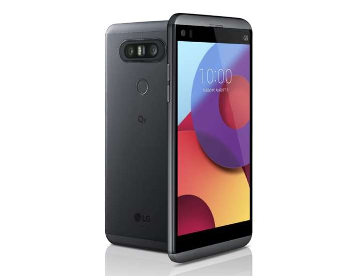 LG unveils the Q8, a smaller model of its V20 handset