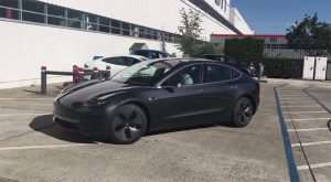 Production Tesla Model 3 Spied on Video