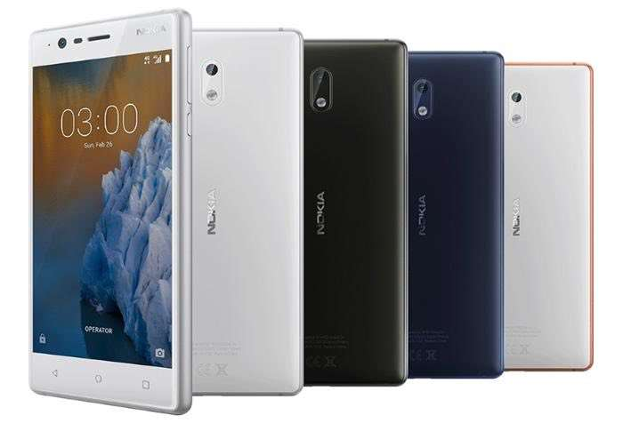 Nokia 2, Nokia 7 and Nokia 8 leak reveals processor details