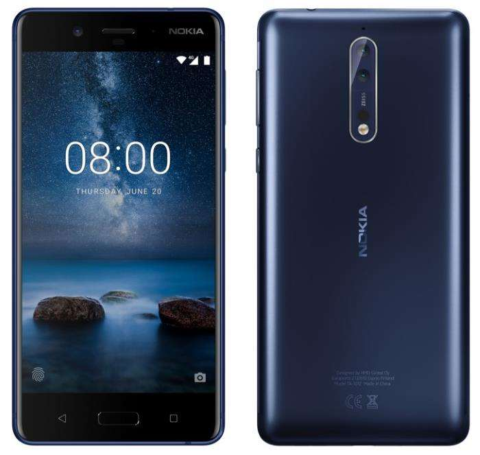 Nokia 8 Smartphone To Cost Around €520