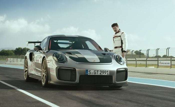 new porsche 911 gt2 rs appears in another video geeky. Black Bedroom Furniture Sets. Home Design Ideas