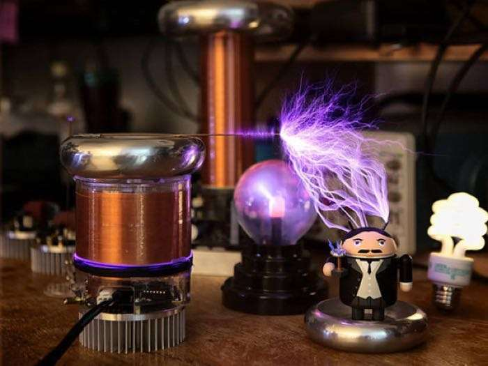 Deals Tinytesla Musical Tesla Coil Kit Save 14 Geeky