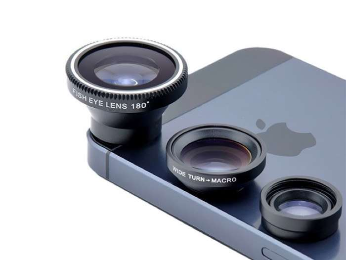 Acesori 5 Piece Smartphone Camera Lens Kit