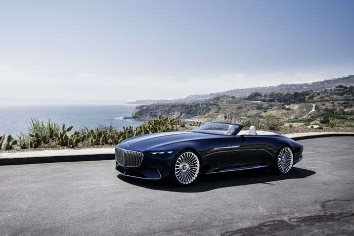 Stunning electric Mercedes-Maybach 6 Cabriolet revealed