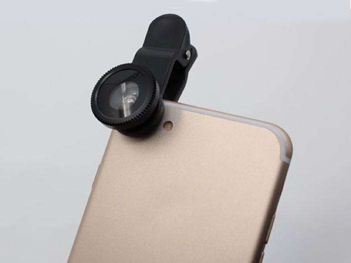 5-in-1 Clip & Snap Smartphone Camera Lenses