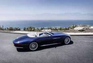 Vision Mercedes-Maybach 6 Cabriolet Concept Unveiled (Video)