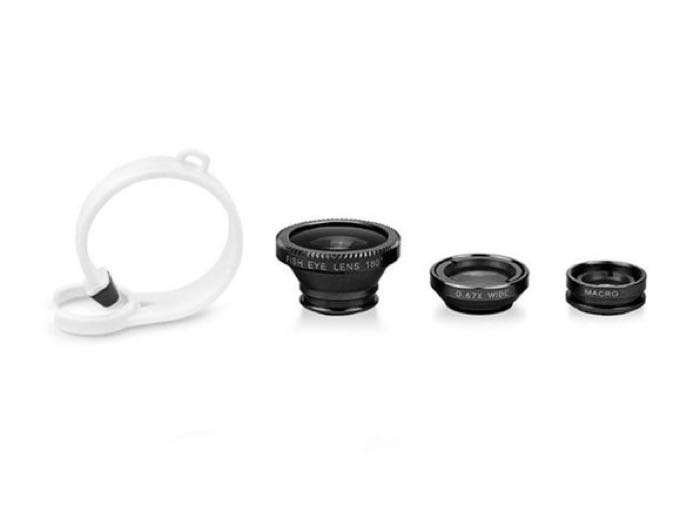 3-in-1 Universal Smartphone Camera Lens Kit