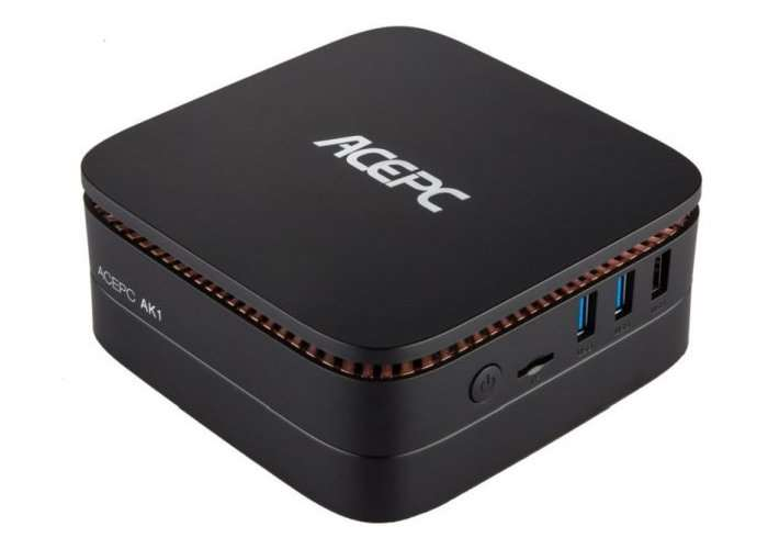 ACEPC AK1 Windows 10 Mini PC Unveiled From $133