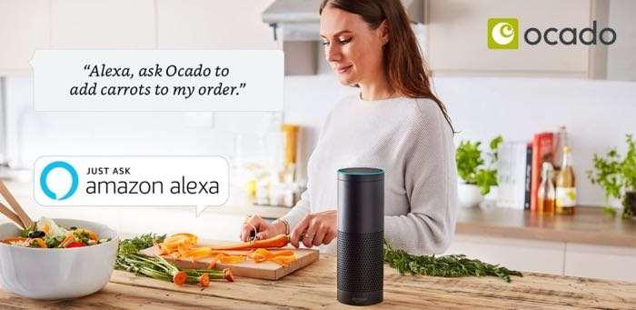 Amazon Alexa Ocado