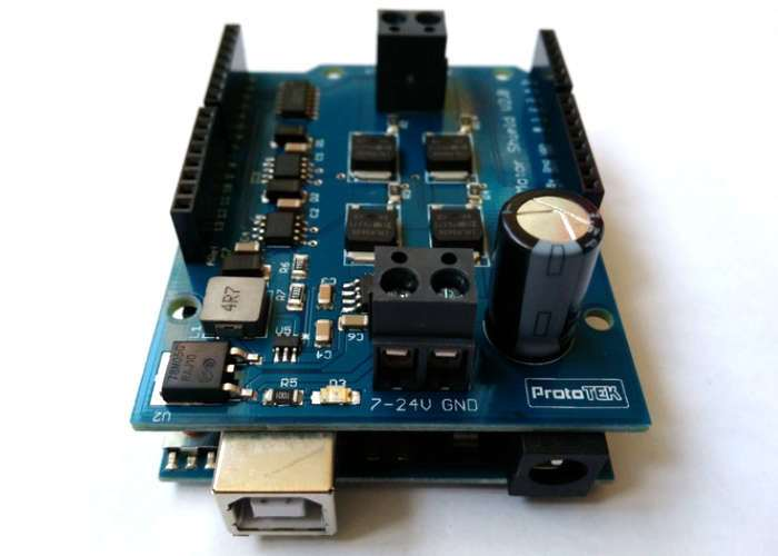 Arduino High Power H-Bridge Motor Shield